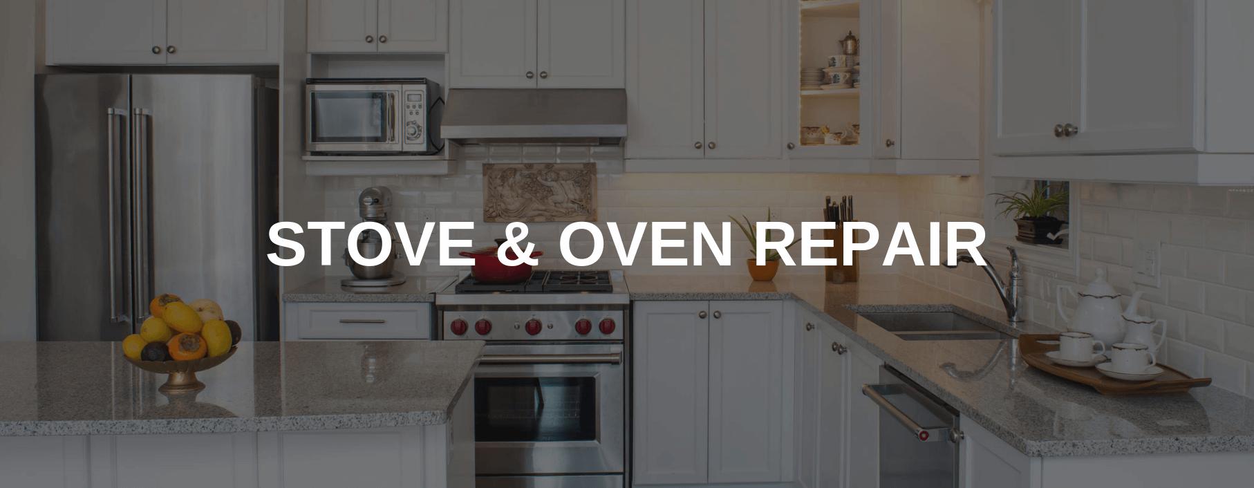 stove repair bryan