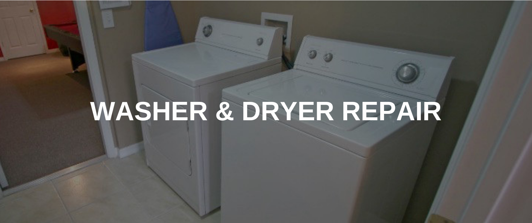 washing machine repair bryan